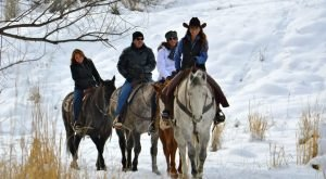 The Winter Horseback Riding Trail In Utah That's Pure Magic