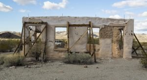 Step Inside The Creepy, Abandoned Town Of Swansea In Arizona
