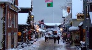 Newport Turns Into A Winter Wonderland Each Year In Rhode Island