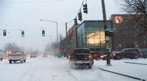 5 Car Crashes Per Hour Reported In Portland Amid Snowy Weather