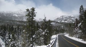 Here's The Most Scenic Drive You Can Possibly Take In Colorado This Winter