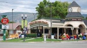 The Train-Themed Restaurant In Utah That Will Make You Feel Like A Kid Again