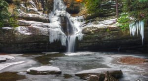 11 Gorgeous Frozen Waterfalls In Ohio That Must Be Seen To Be Believed