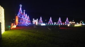 8 Enchanting Christmas Light Displays In North Carolina That Are So Worth The Drive