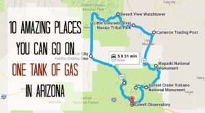 10 Amazing Places You Can Go On One Tank Of Gas In Arizona