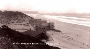 The Story Behind The Ghost Town In Oregon That Fell Into The Sea
