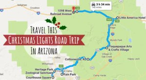 The Christmas Lights Road Trip Through Arizona That's Nothing Short Of Magical