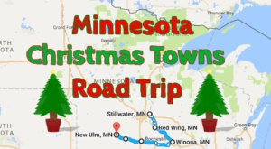 The Magical Road Trip That Will Take You Through Minnesota's Most Charming Christmas Towns