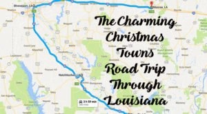 The Magical Road Trip Will Take You Through Louisiana's Most Charming Christmas Towns
