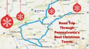 The Magical Road Trip Will Take You Through Pennsylvania's Most Charming Christmas Towns