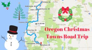 The Magical Road Trip That Will Take You Through Oregon's Most Charming Christmas Towns