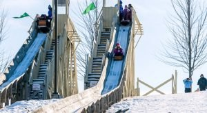 Take A Thrilling Ride At Lowell Park In Wisconsin This Winter