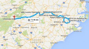 7 Unforgettable Road Trips To Take In North Carolina Before You Die