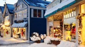 Kennebunkport Turns Into A Winter Wonderland Each Year In Maine