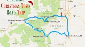 The Magical Road Trip Will Take You Through Colorado's Most Charming Christmas Towns