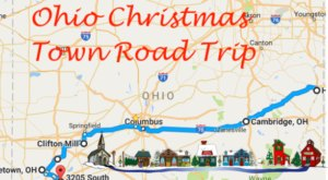 The Magical Road Trip That Will Take You Through Ohio's Most Charming Christmas Towns