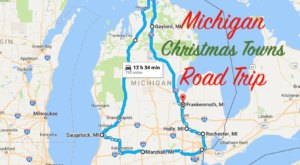 The Magical Road Trip Will Take You Through Michigan's Most Charming Christmas Towns
