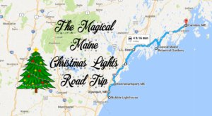 The Christmas Lights Road Trip Through Maine That's Nothing Short Of Magical