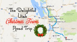 The Magical Road Trip Will Take You Through Utah's Most Charming Christmas Towns