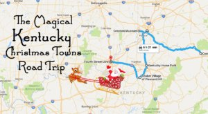 This Magical Road Trip Will Take You Through Kentucky's Most Charming Christmas Towns