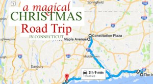 This Magical Road Trip Will Take You Through Connecticut's Most Charming Christmas Towns
