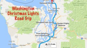 The Christmas Lights Road Trip Through Washington That's Nothing Short Of Magical