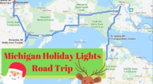 The Christmas Lights Road Trip Through Michigan That Will Take You To 8 Magical Displays