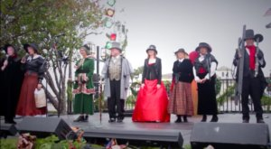 Have An Old World Christmas At This Charming Historic Village In Florida