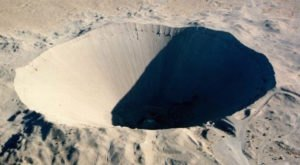 You'll Marvel At the Largest Man-Made Crater from the Atomic Age in Nevada
