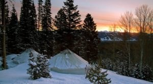 These 10 Beautiful Yurts In Idaho Will Give You An Unforgettable Experience