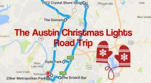 The Christmas Lights Road Trip Around Austin That's Nothing Short Of Magical