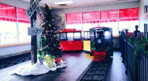 The Train-Themed Restaurant In Indiana, Tyler's Tender Restaurant, Is Perfectly Whimsical