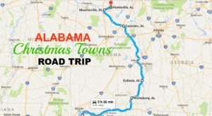 The Magical Road Trip That Will Take You Through Alabama's Most Charming Christmas Towns