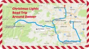 The Christmas Lights Road Trip Around Denver That's Nothing Short Of Magical