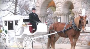 9 Magical Horse Drawn Carriage Rides to Take in Indiana this Winter