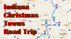 The Magical Road Trip Will Take You Through Indiana's Most Charming Christmas Towns