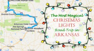 The Christmas Lights Road Trip Through Arkansas That's Nothing Short Of Magical