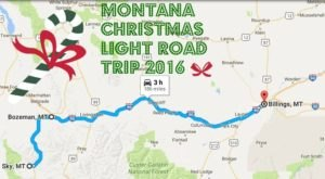 The Christmas Lights Road Trip Through Montana That's Nothing Short Of Magical