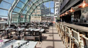 The Minnesota Restaurant With A Rooftop Patio You Can Enjoy Even When It Snows
