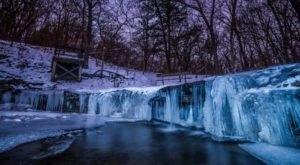 3 Gorgeous Frozen Waterfalls In Nebraska That Must Be Seen To Be Believed