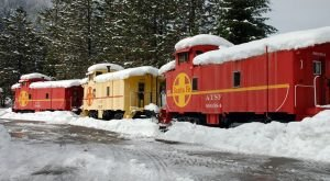 The Train Resort in Northern California Everyone Needs To Visit At Least Once