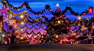 12 Main Streets In Oklahoma That Are Pure Magic During Christmastime