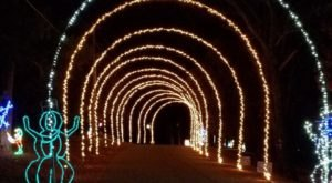 A Visit To The Lights On The Island Christmas Display In Oklahoma Is Unforgettable