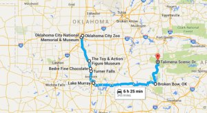 8 Unforgettable Road Trips To Take In Oklahoma Before You Die