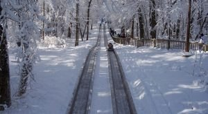 Take A Thrilling Ride At Pokagon State Park In Indiana This Winter