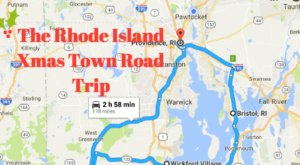 The Magical Road Trip Will Take You Through Rhode Island's Most Charming Christmas Towns