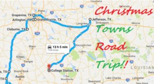 The Magical Road Trip Will Take You Through Texas' Most Charming Christmas Towns