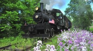 Take A Ride Back In Time Aboard This Antique Train In Illinois