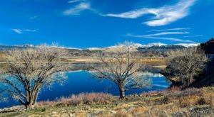You'll Never Forget The Striking Water Of This Exquisite Lake In Nevada