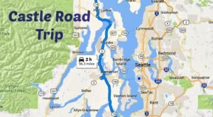 This Road Trip To Washington's Most Majestic Castles Is Like Something From A Fairytale